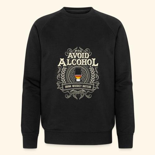 Whiskey T Shirt Avoid Alcohol - Männer Bio-Sweatshirt von Stanley & Stella
