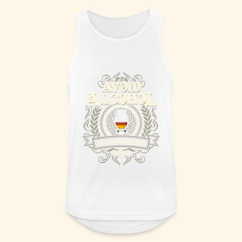 Whiskey T Shirt Avoid Alcohol - Männer Tank Top atmungsaktiv
