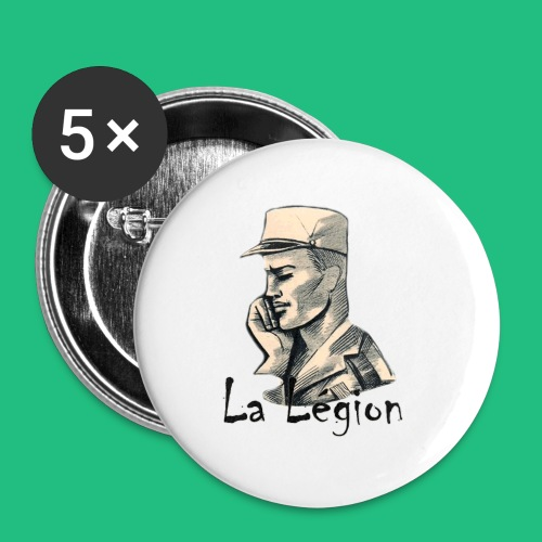 MUG PANORAMIQUE - Lot de 5 petits badges (25 mm)