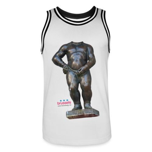 REAL BiG mannekenpis  | ♀♂ - Maillot de basket Homme