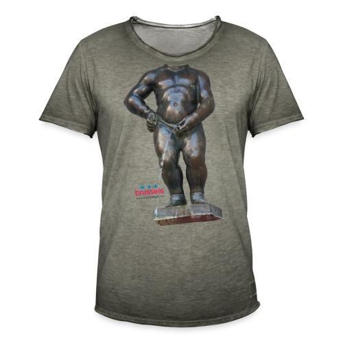 REAL BiG mannekenpis  | ♀♂ - T-shirt vintage Homme