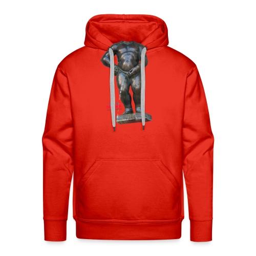 REAL BiG mannekenpis  | ♀♂ - Sweat-shirt à capuche Premium pour hommes
