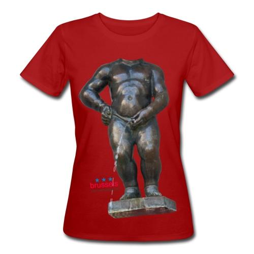 REAL BiG mannekenpis  | ♀♂ - T-shirt bio Femme