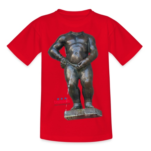 REAL BiG mannekenpis  | ♀♂ - T-shirt Ado