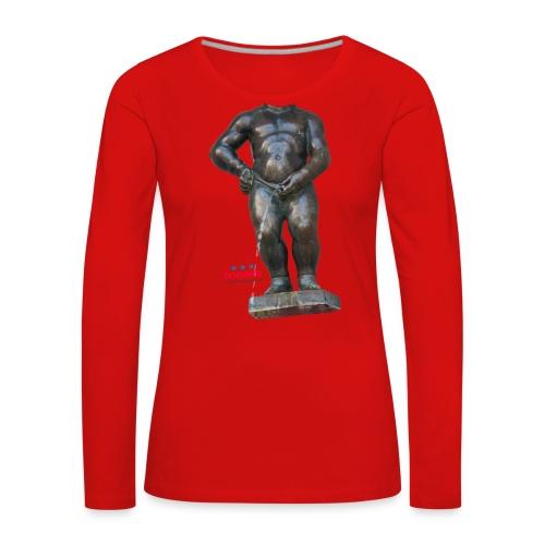 REAL BiG mannekenpis  | ♀♂ - T-shirt manches longues Premium Femme