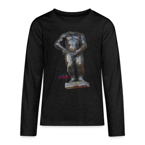 REAL BiG mannekenpis  | ♀♂ - T-shirt manches longues Premium Ado