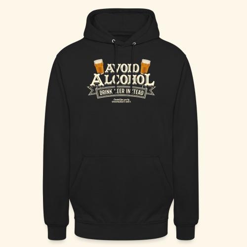 Bier T Shirt Spruch Avoid Alcohol Drink Beer  - Unisex Hoodie