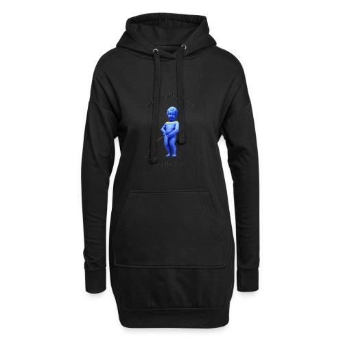 I'M THE BOSS ♀♂ | manneken pis - Sweat-shirt à capuche long Femme