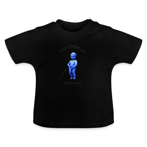 I'M THE BOSS ♀♂ | manneken pis - T-shirt Bébé