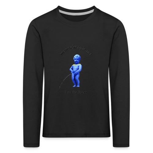 I'M THE BOSS ♀♂ | manneken pis - T-shirt manches longues Premium Enfant