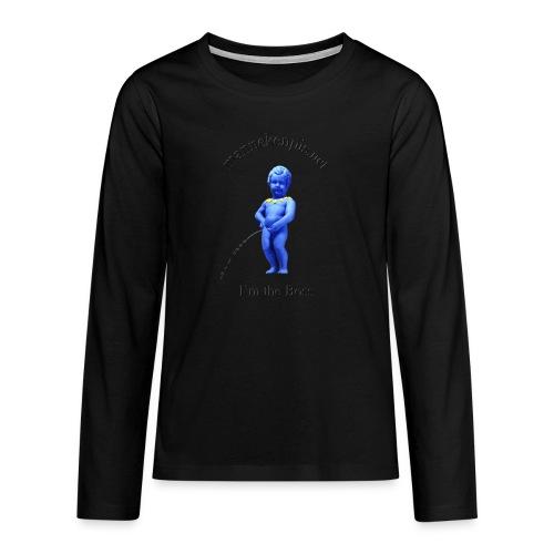 I'M THE BOSS ♀♂ | manneken pis - T-shirt manches longues Premium Ado