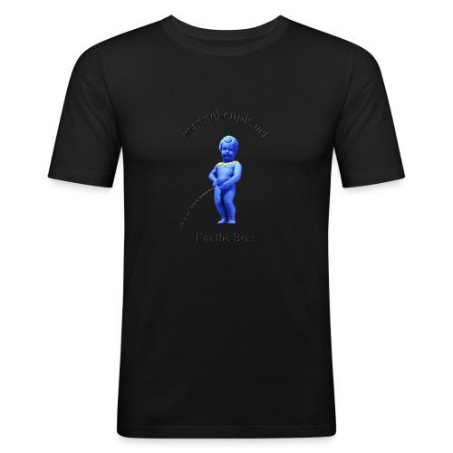 I'M THE BOSS ♀♂   manneken pis - T-shirt près du corps Homme