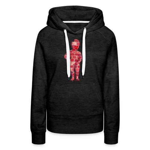 BRiCO ♀♂ | mannekenpis - Sweat-shirt à capuche Premium pour femmes