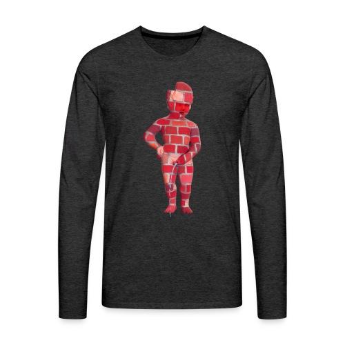 BRiCO ♀♂ | mannekenpis - T-shirt manches longues Premium Homme
