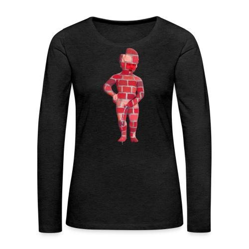 BRiCO ♀♂   mannekenpis - T-shirt manches longues Premium Femme