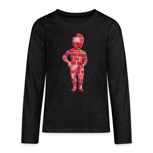 BRiCO ♀♂ | mannekenpis - T-shirt manches longues Premium Ado