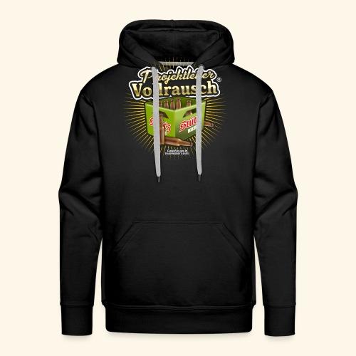 Bier T Shirt Projektleiter Vollrausch (R) - Männer Premium Hoodie