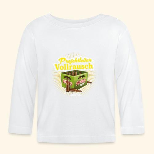Bier T Shirt Projektleiter Vollrausch (R) - Baby Langarmshirt