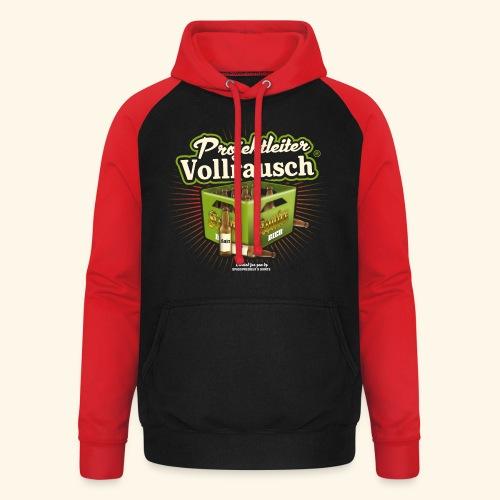 Bier T Shirt Projektleiter Vollrausch (R) - Unisex Baseball Hoodie