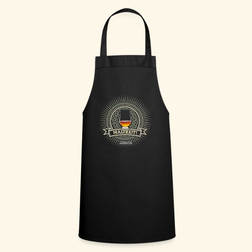 Single Malt Whisky T Shirt Maltzeit! - Kochschürze
