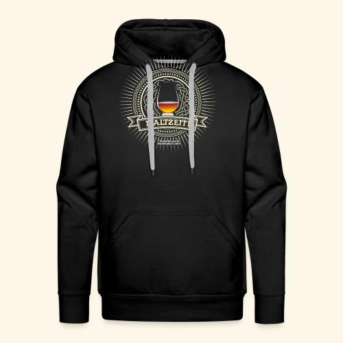 Single Malt Whisky T Shirt Maltzeit! - Männer Premium Hoodie