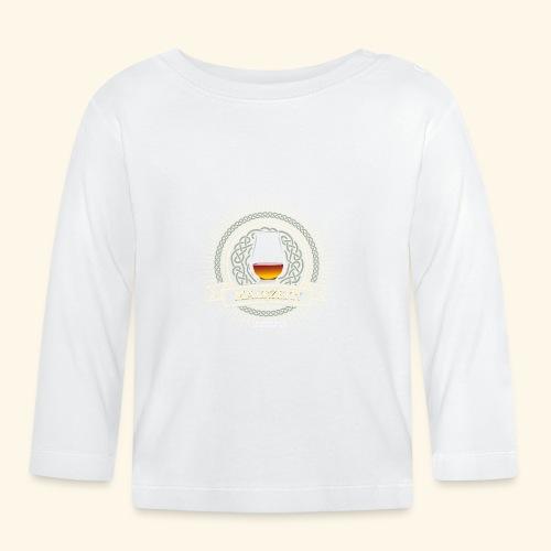 Single Malt Whisky T Shirt Maltzeit! - Baby Langarmshirt