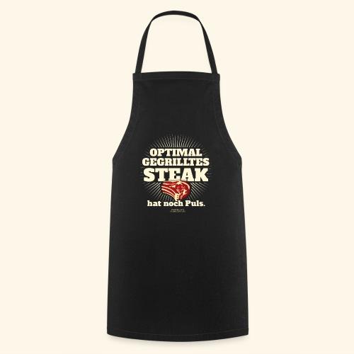 Grill T Shirt Steak mit Puls - Kochschürze