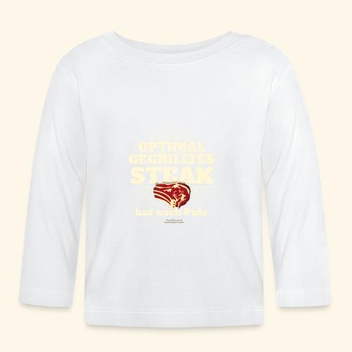 Grill T Shirt Steak mit Puls - Baby Langarmshirt