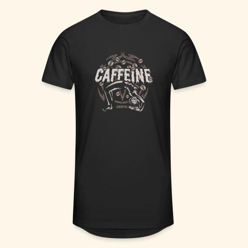 Kaffee T Shirt - Männer Urban Longshirt