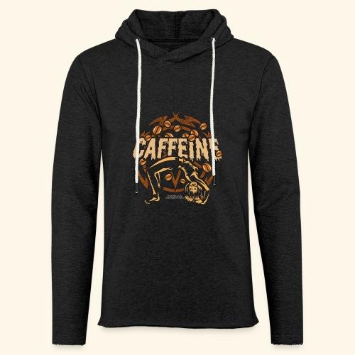 Kaffee T Shirt - Leichtes Kapuzensweatshirt Unisex
