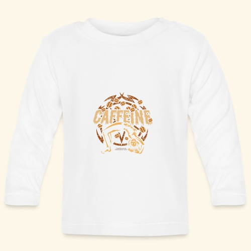 Kaffee T Shirt - Baby Langarmshirt