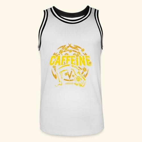 Kaffee T Shirt - Männer Basketball-Trikot