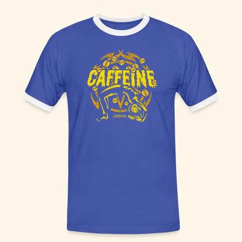 Kaffee T Shirt - Männer Kontrast-T-Shirt