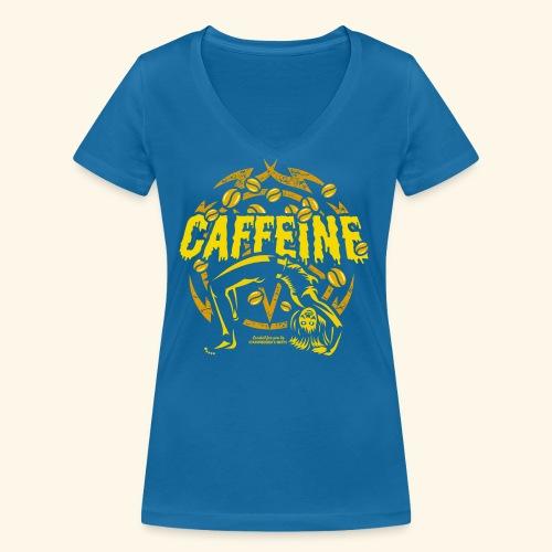 Kaffee T Shirt - Frauen Bio-T-Shirt mit V-Ausschnitt von Stanley & Stella