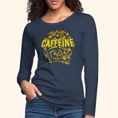 Kaffee T Shirt - Frauen Premium Langarmshirt