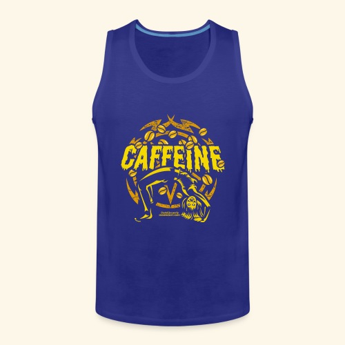 Kaffee T Shirt - Männer Premium Tank Top
