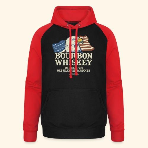 Whisky T Shirt Bourbon Whisky Scotch des kleinen Mannes - Unisex Baseball Hoodie