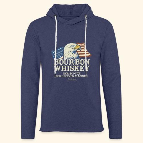 Whisky T Shirt Bourbon Whisky Scotch des kleinen Mannes - Leichtes Kapuzensweatshirt Unisex