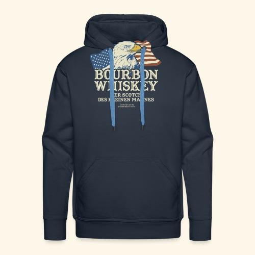 Whisky T Shirt Bourbon Whisky Scotch des kleinen Mannes - Männer Premium Hoodie