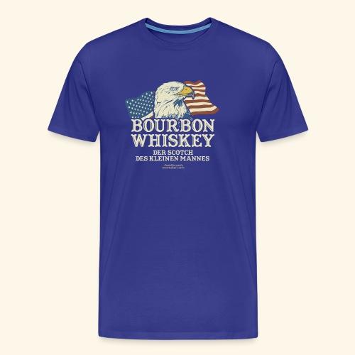 Whisky T Shirt Bourbon Whisky Scotch des kleinen Mannes - Männer Premium T-Shirt