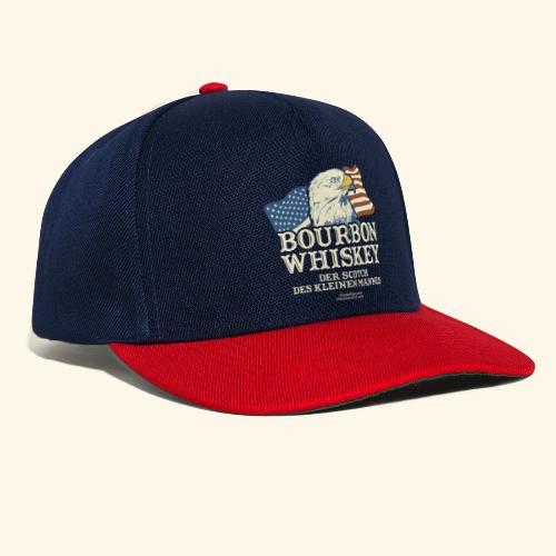 Whisky T Shirt Bourbon Whisky Scotch des kleinen Mannes - Snapback Cap