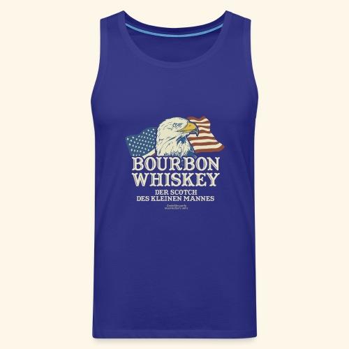 Whisky T Shirt Bourbon Whisky Scotch des kleinen Mannes - Männer Premium Tank Top