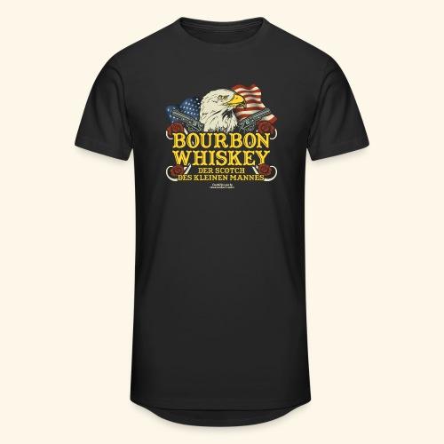 Whisky T Shirt Bourbon   Scotch des kleinen Mannes - Männer Urban Longshirt