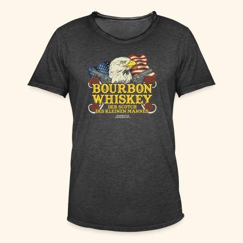 Whisky T Shirt Bourbon   Scotch des kleinen Mannes - Männer Vintage T-Shirt