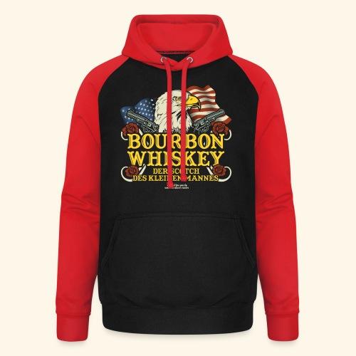 Whisky T Shirt Bourbon   Scotch des kleinen Mannes - Unisex Baseball Hoodie