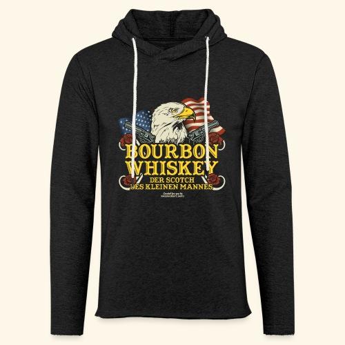 Whisky T Shirt Bourbon   Scotch des kleinen Mannes - Leichtes Kapuzensweatshirt Unisex