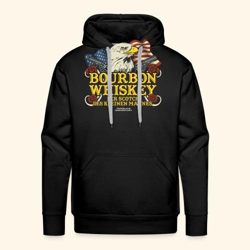 Whisky T Shirt Bourbon   Scotch des kleinen Mannes - Männer Premium Hoodie