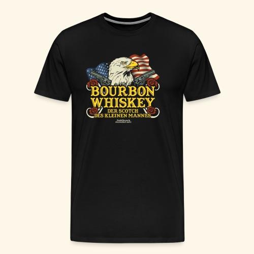 Whisky T Shirt Bourbon   Scotch des kleinen Mannes - Männer Premium T-Shirt