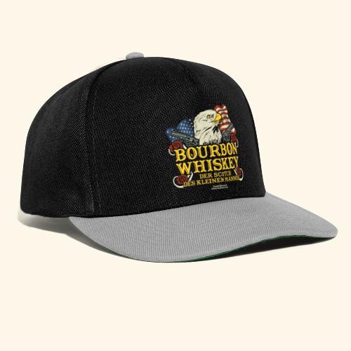 Whisky T Shirt Bourbon   Scotch des kleinen Mannes - Snapback Cap