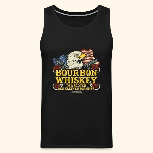 Whisky T Shirt Bourbon   Scotch des kleinen Mannes - Männer Premium Tank Top